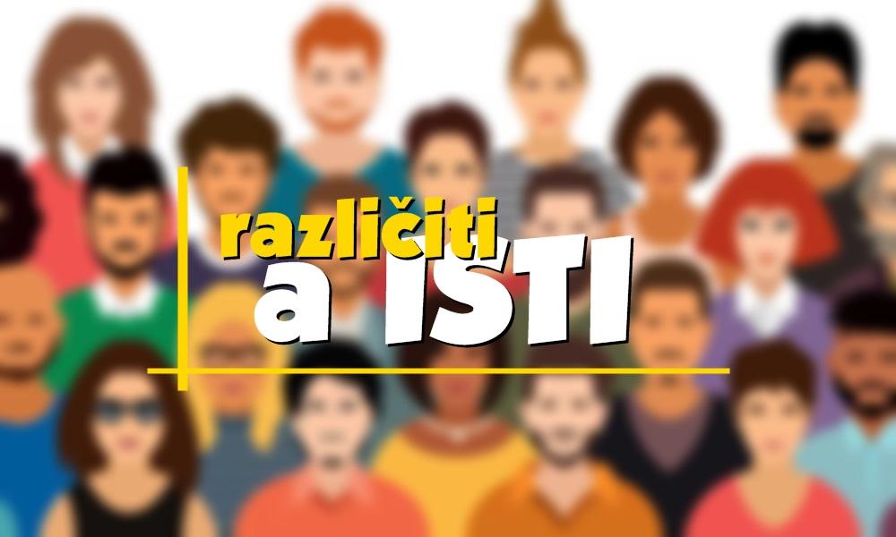 """Javni poziv za prijave na trening za mlade """"Različiti, a isti"""""""