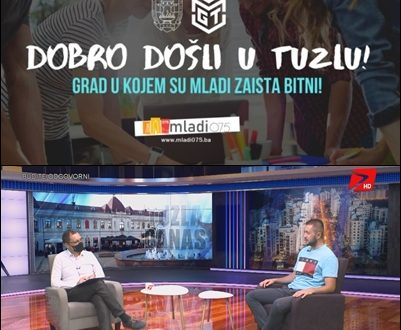 U Tuzli predstavljen portal za mlade www.mladi075.ba