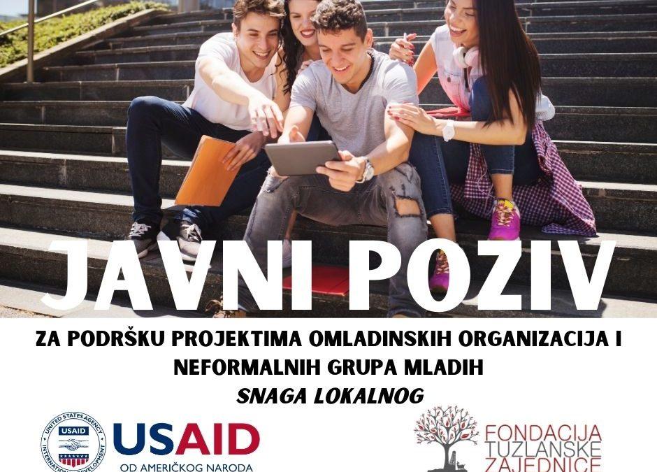 Fondacija tuzlanske zajednice: Fond za mlade