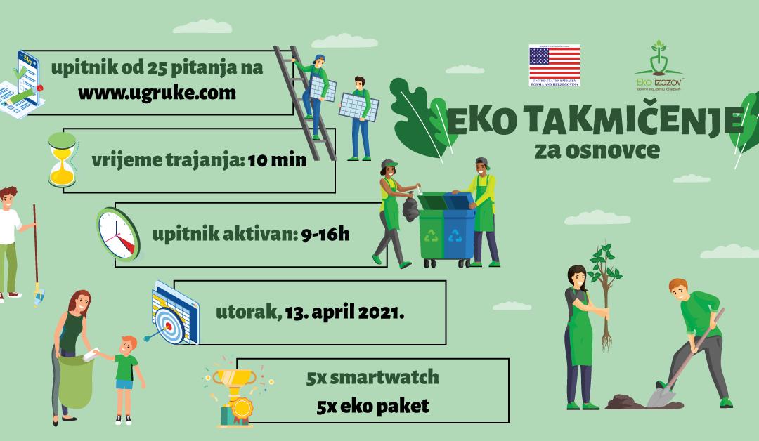 Eko takmičenje za osnovce – Eko izazov
