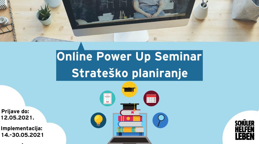 Online Power Up Seminar – Strateško planiranje omladinskih organizacija