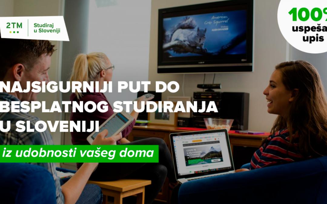 Besplatne magistarske studije u Sloveniji