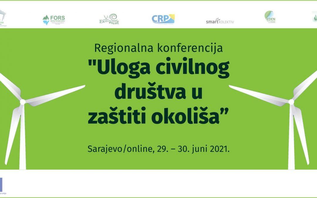 """Konferencija """"Uloga civilnog društva u zaštiti okoliša"""""""