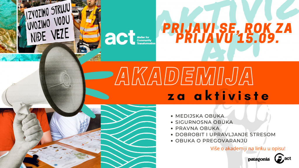 PRIJAVI SE: Akademija za aktiviste