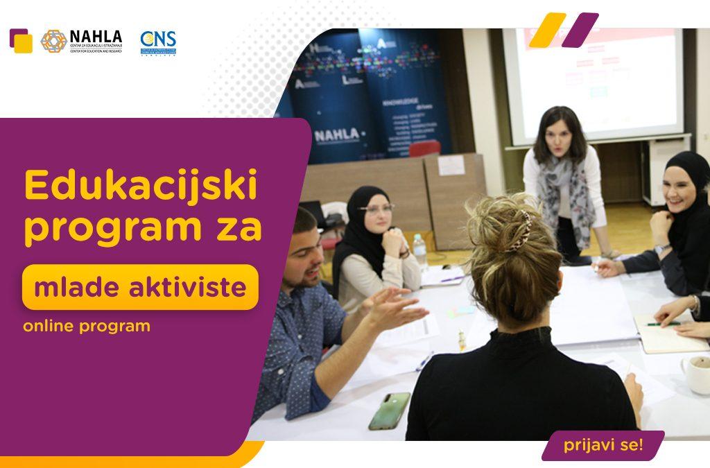 Edukacijski program za mlade aktiviste/ice – 2021.